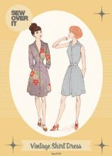 Vintage Style Shirt Dress Pattern